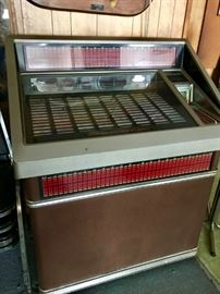 Rowe Jukebox Complete with Records and Operates Great