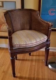 Cane Occassional Chair