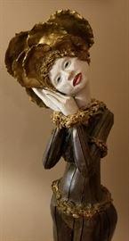 Female Statue Face