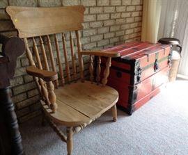 Primitive Farmer's Chair