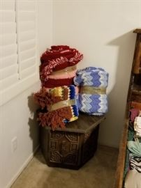 End Table, Afghans
