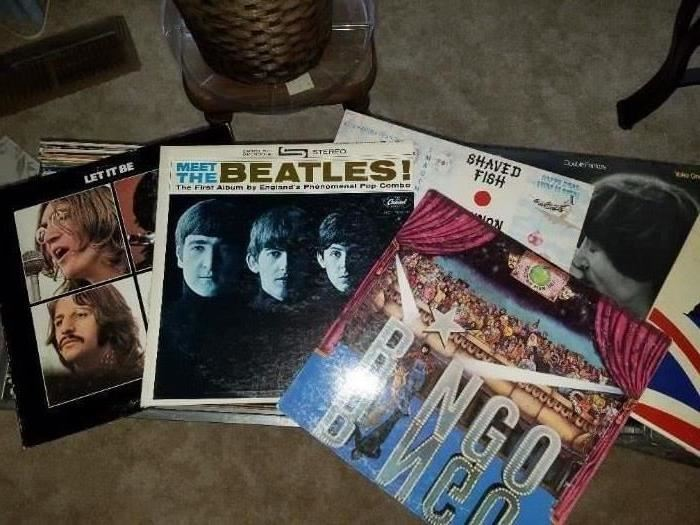 The Beatles and Ringo's Album with insert