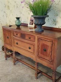 Antique J. C. Dexter Manufacturer 1905 - Buffet Credenza.