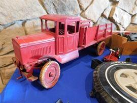 Antique Kingsbury Stake truck