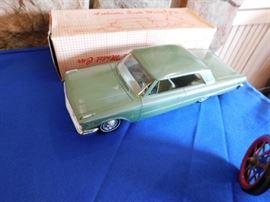 1963 Ford hardtop Promo dealer car