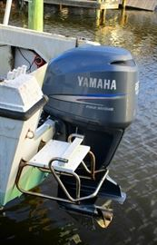 Yahama 250  runs real smooth   go fishing or putt around the river at sunset. This engine cost $13,000 new and is now a steal!