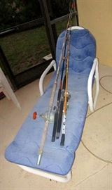 Tube furniture and fishing rods