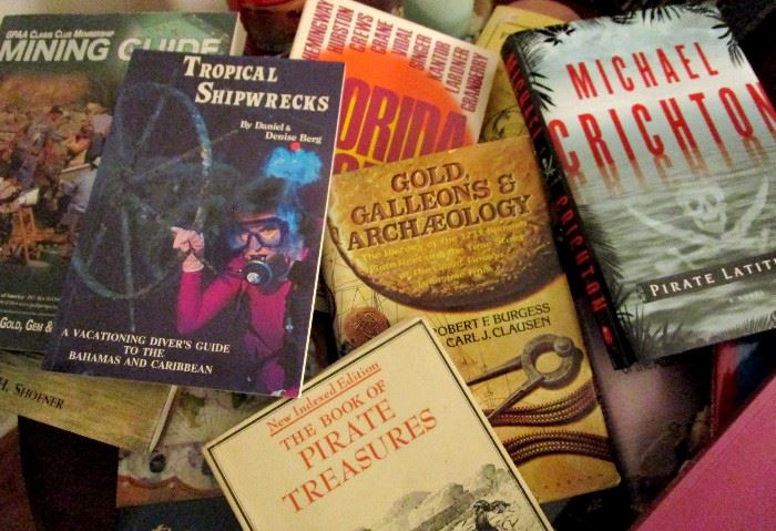 Treasure hunting and shipwreck books