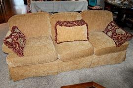 Broyhill upholstered sofa