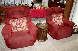 La-Z-boy upholstered recliner chairs