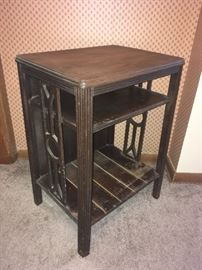 Awesome Side Table (Old Record Table)