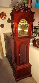 Fabulous grandfather clock fully functional