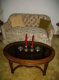 sofa 30.00  coffee table 22.50