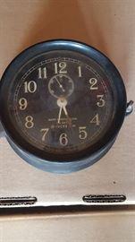 Navy ship deck clock WWII
