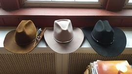 Western Cowboy hats