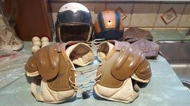 Vintage Football equipment