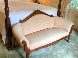 Cute Vintage Loveseat