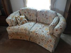 Vintage Retro Love Seat