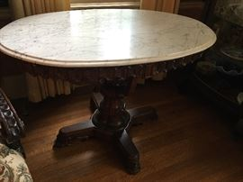 Vicki or Ian Marble top  Tables Dressers