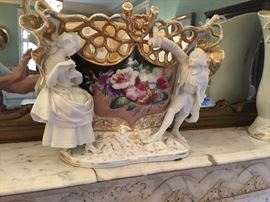 French Old Paris Porcelain from New Orleans