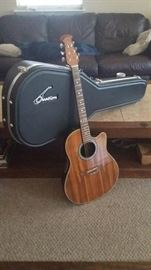 Ovation Guitar and case- perfect condition - $300.00