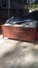 8 Drawer Dresser Solid Wood - good condition - $95.00