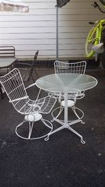 Small outdoor table and chairs - $45.00