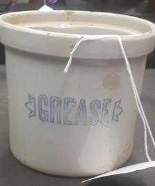 Antique Stoneware Grease Crock