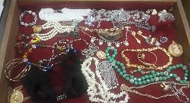 Case of Costume Jewelry