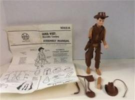 Jamie West Movable Cowboy Figure