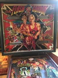 1980's Bally Flash Gordon Pinball Machine