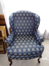 Wing Back Chair - main level