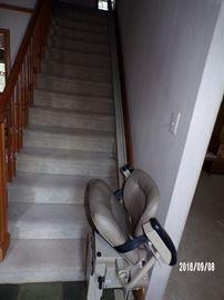 Bruno  Chair Lift - main level to upstairs
