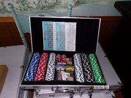 boxes of Poker Chips - main level