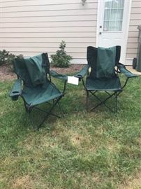 Folding camping chairs    https://ctbids.com/#!/description/share/46132
