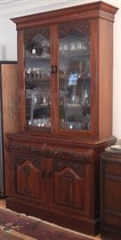 Scottish secretary-bookcase