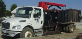 2010 Freightliner M2 Business Class Knuckle Boom Truck