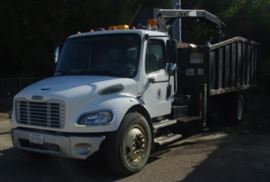 2007 Freightliner M2 Business Class Knuckle Boom Truck