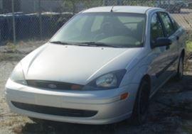 2002 Ford Focus Car