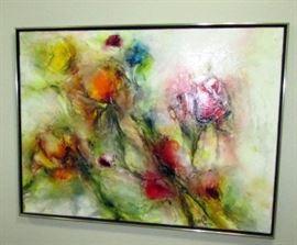 Original abstract still life
