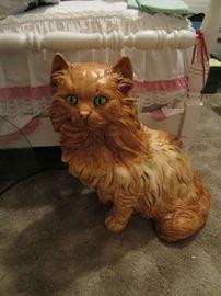 Large Vintage Cat