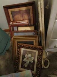 Lots of art new and vintage