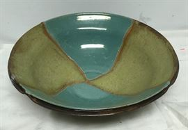 L'Azzio Pottery Bowl Large Center Piece  BD8104  https://www.ebay.com/itm/113288815652