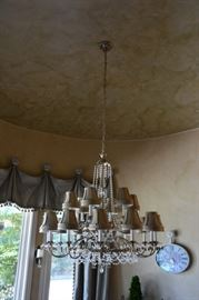 Schonbek Chandelier, there are 2 of these for sale!!