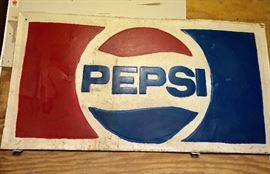 Pepsi sign vintage