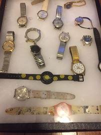 Vintage watches, unlovable, Rolex, citizen,  etc