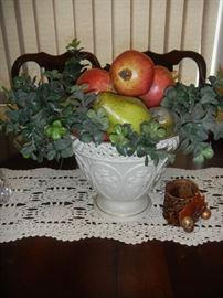 fruit bowl by Lenox