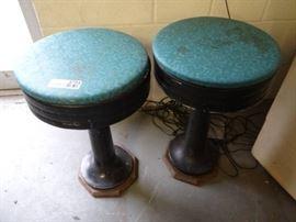 2 Vintage Bar Stools