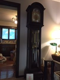Colonial of Zeeland Grandfather Clock.