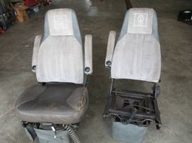 Lot of 2 Kenworth Seats